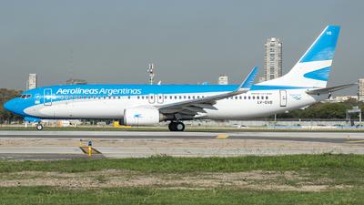 A picture of LVGVB - Boeing 737887 - Aerolineas Argentinas - © Ezequiel Catalano