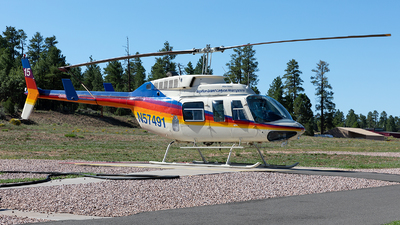 N57491 - Bell 206L-1 LongRanger - Papillon Grand Canyon Helicopters