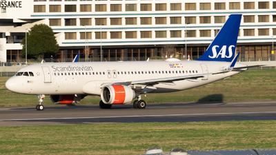 A picture of SEDOX - Airbus A320251N - SAS - © Frankie A Said