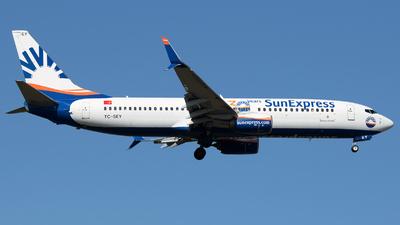 TC-SEY - Boeing 737-8HC - SunExpress