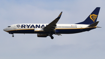 A picture of EIEBF - Boeing 7378AS - Ryanair - © Ferenc Kolos