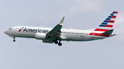 A picture of N306RC - Boeing 737 MAX 8 - American Airlines - © Nito