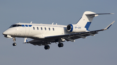 VP-CPF - Bombardier BD-100-1A10 Challenger 300 - Alliance Air