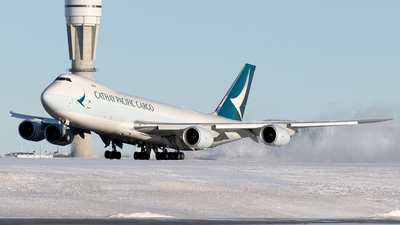B-LJN - Boeing 747-867F - Cathay Pacific Cargo