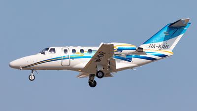 HA-KAR - Cessna 525 CitationJet 1 - Private