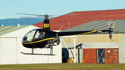 ZK-HSF - Robinson R22 Beta - Private