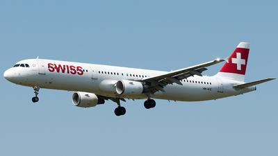 A picture of HBIOC - Airbus A321111 - Swiss - © Selzam-Rosser