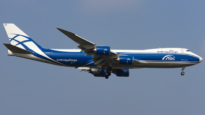 VP-BJS - Boeing 747-83QF - Air Bridge Cargo