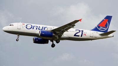TC-OBD - Airbus A320-232 - Onur Air