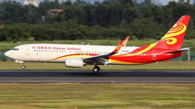 B-1495 - Boeing 737-84P - Hainan Airlines
