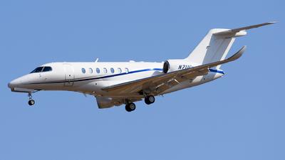 N711CL - Cessna Citation Longitude - Private