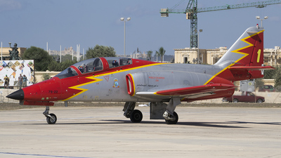 E.25-22 - CASA C-101EB Aviojet - Spain - Air Force