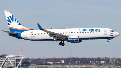 A picture of TCSED - Boeing 73786N - SunExpress - © Niklas Engel