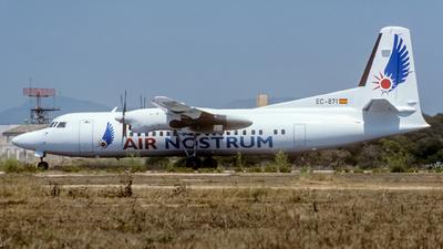 EC-871 - Fokker 50 - Air Nostrum