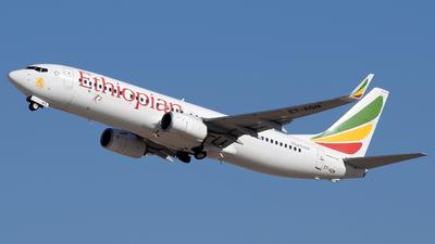 ET-AQM - Boeing 737-860 - Ethiopian Airlines