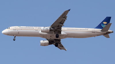 A picture of HZASL - Airbus A321211 - Saudia - © AirlinerSpotter