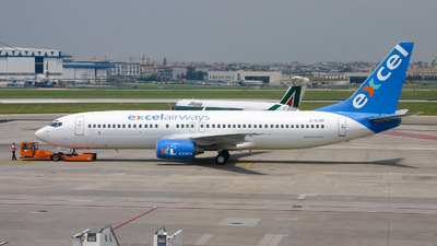 G-XLAD - Boeing 737-81Q - Excel Airways