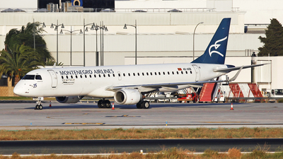 A picture of 4OAOB - Embraer E195LR -  - © Manuel Llama - Benalmadena Spotters