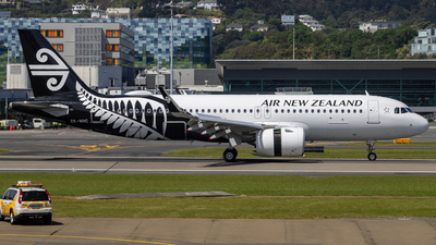 ZK-NHC - Airbus A320-271N - Air New Zealand