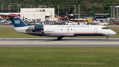 N230PS - Bombardier CRJ-200ER - US Airways Express (PSA Airlines)