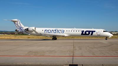 ES-ACI - Bombardier CRJ-900ER - LOT Polish Airlines (Nordica)