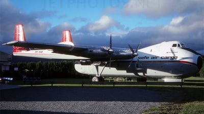 ZK-SAE - Armstrong Whitworth 650 Argosy - Safe Air Cargo