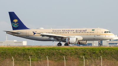 A picture of HZASG - Airbus A320214 - Saudia - © Kostas Marmarelis