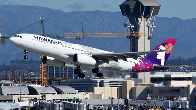A picture of N389HA - Airbus A330243 - Hawaiian Airlines - © Rocky Wang