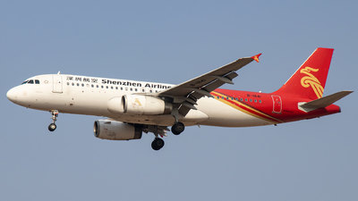 A picture of B1841 - Airbus A320232 - Shenzhen Airlines - © faks