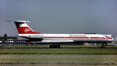 DDR-SDF - Tupolev Tu-134AK - Interflug