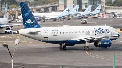 A picture of N516JB - Airbus A320232 - JetBlue Airways - © Alfredo La Red