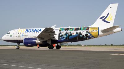 E7-FBA - Airbus A319-112 - FlyBosnia