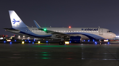 XA-JMA - Airbus A320-214 - Interjet