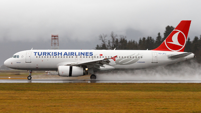 TC-JPJ - Airbus A320-232 - Turkish Airlines