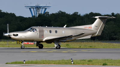 LX-JFU - Pilatus PC-12/47E - Jetfly Aviation