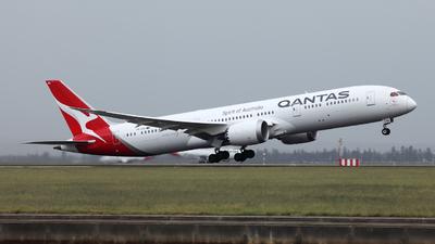 VH-ZNA - Boeing 787-9 Dreamliner - Qantas