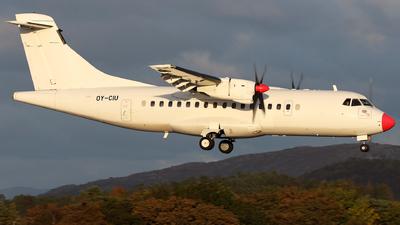 A picture of OYCIU - ATR 42300 - DAT - © R.Rimestad