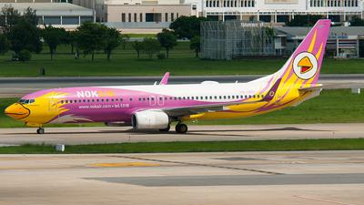 HS-DBS - Boeing 737-86N - Nok Air