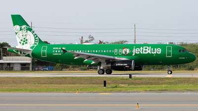 A picture of N595JB - Airbus A320232 - JetBlue Airways - © Abdiel Arroyo-PR spotter