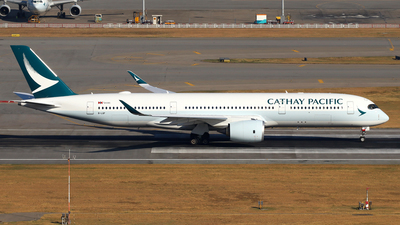 B-LQF - Airbus A350-941 - Cathay Pacific Airways