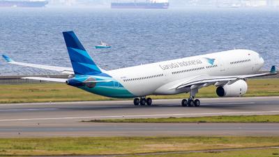 PK-GPX - Airbus A330-343 - Garuda Indonesia