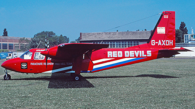 G-AXDH - Britten-Norman BN-2A Islander - Red Devils Parachute Display Team