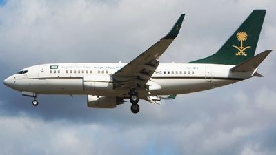 HZ-MF1 - Boeing 737-7FG(BBJ) - Saudi Arabia - Ministry of Finance