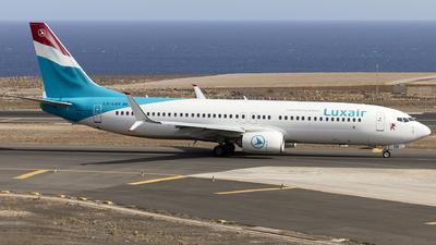 A picture of LXLGV - Boeing 7378C9 - Luxair - © Manu Aldana