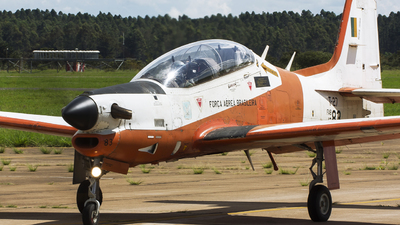 FAB1383 - Embraer T-27 Tucano - Brazil - Air Force
