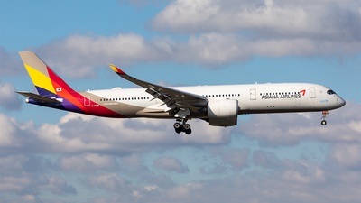 A picture of HL8079 - Airbus A350941 - Asiana Airlines - © Paul Buchröder