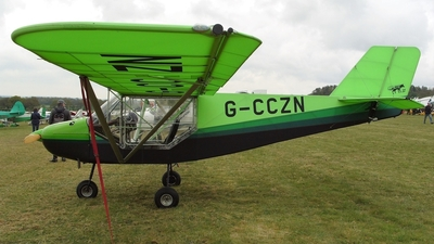 G-CCZN - Rans S-6ES Coyote II - Private