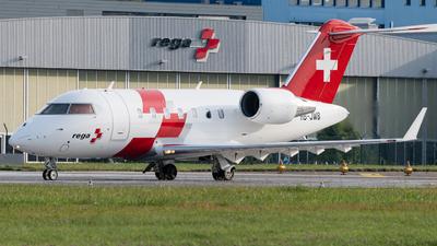 A picture of HBJWB - Bombardier Challenger 650 - Swiss AirAmbulance - © Christian Kruhl