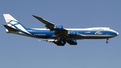VP-BIN - Boeing 747-83QF - Air Bridge Cargo