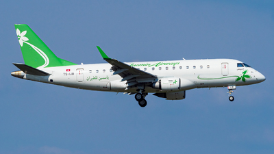 TS-IJB - Embraer 170-100LR - Jasmin Airways